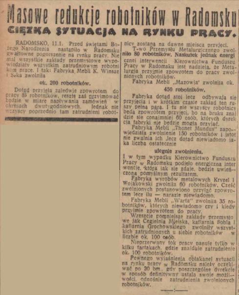 Echo 11 11.01.1936