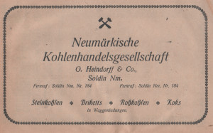 Heimatkalender fur Kreis Soldin 1924