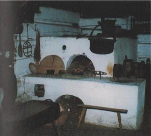 Piec w kurnej chałupie orawskiej