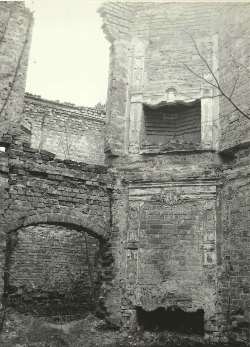 kominek pałac Starogard