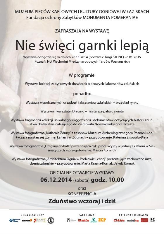 Wystawa, konferencja Poznań 06.12.2014 1