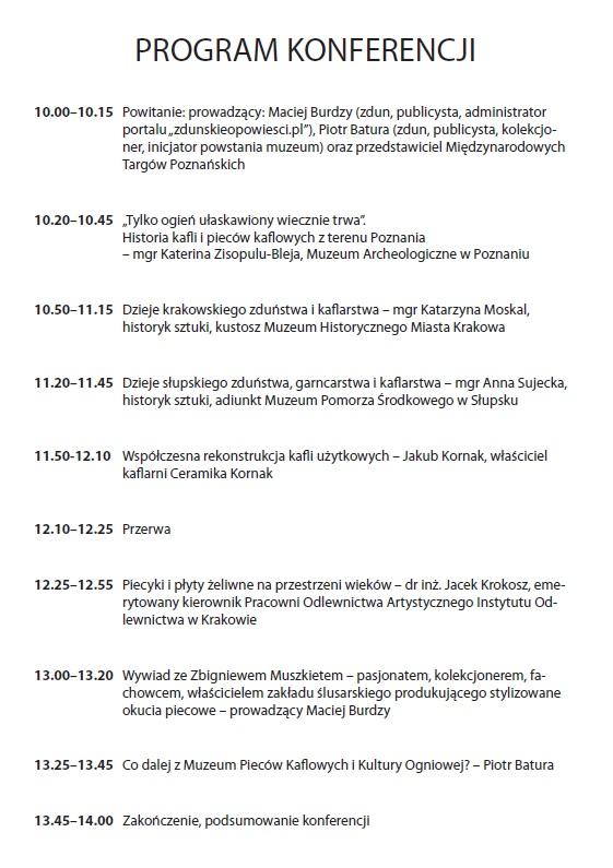 Wystawa, konferencja Poznań 06.12.2014 2
