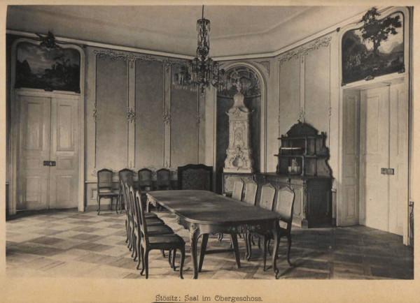 Beschreibende Darstellung der älteren Bau- und Kunstdenkmäler des Königreichs Sachsen. H. 2728. Amtshauptmannschaft Oschatz  1905