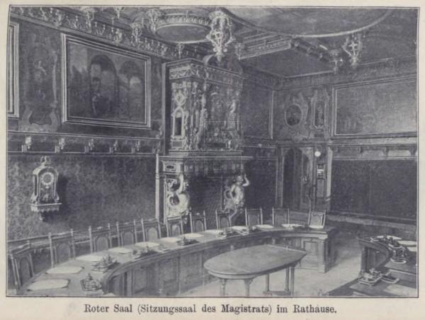 Führer durch Danzig und Umgebung  mit einem Plane der Stadt, Illustrationen und einer Karte der Umgebung  1904