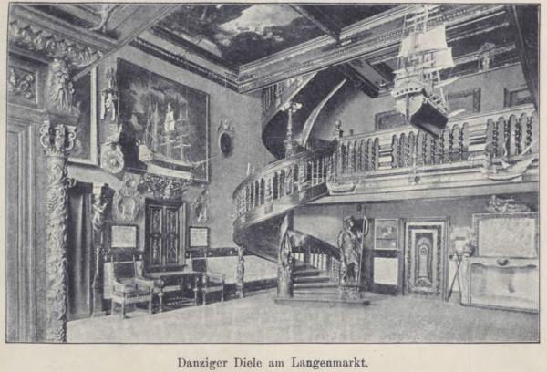 Führer durch Danzig und Umgebung  mit einem Plane der Stadt, Illustrationen und einer Karte der Umgebung  1904a