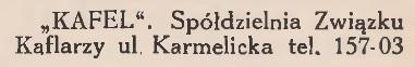 Adresarz-Informator oraz Przewodnik po Krakowie. 1933