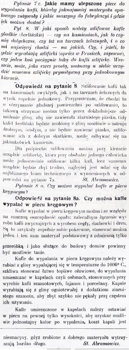 Przegląd ceramiczny nr10 1911