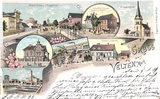 Lithographie-Velten-Gasthaus-Ofenfabrik-Villa-Ziethen
