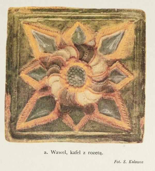 Kafle wawelskie okresu wczesnego renesansu2