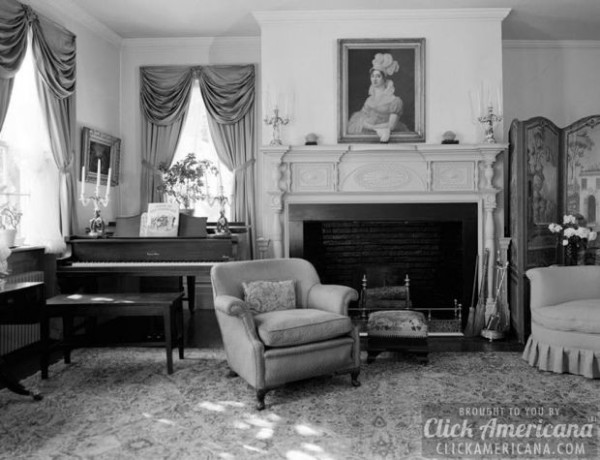 SECOND-FLOOR-SITTINGROOM-VIEW-OF-FIREPLACE-AND-WINDOWS-SHOWING-PROJECTING-FIREPLACE-MANTELPIECE-Henry-Miller-House-Main-Street-Oldwick-Hunterdon-County-NJ
